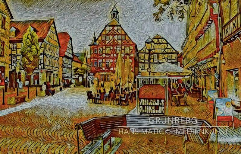 Ich stelle aus: in Grünberg, Barfüßerkloster und Rathaus, vom 4. bis 20. Oktober 2019
